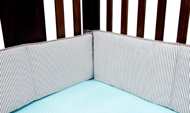 Wavery Baby by Trend Lab COCOA MINT - CRIB BUMPERS PartNumber: 04923314000P KsnValue: 5543451 MfgPartNumber: 110201