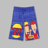 Men's Beavis & Butthead World Pajama Shorts at mygofer.com