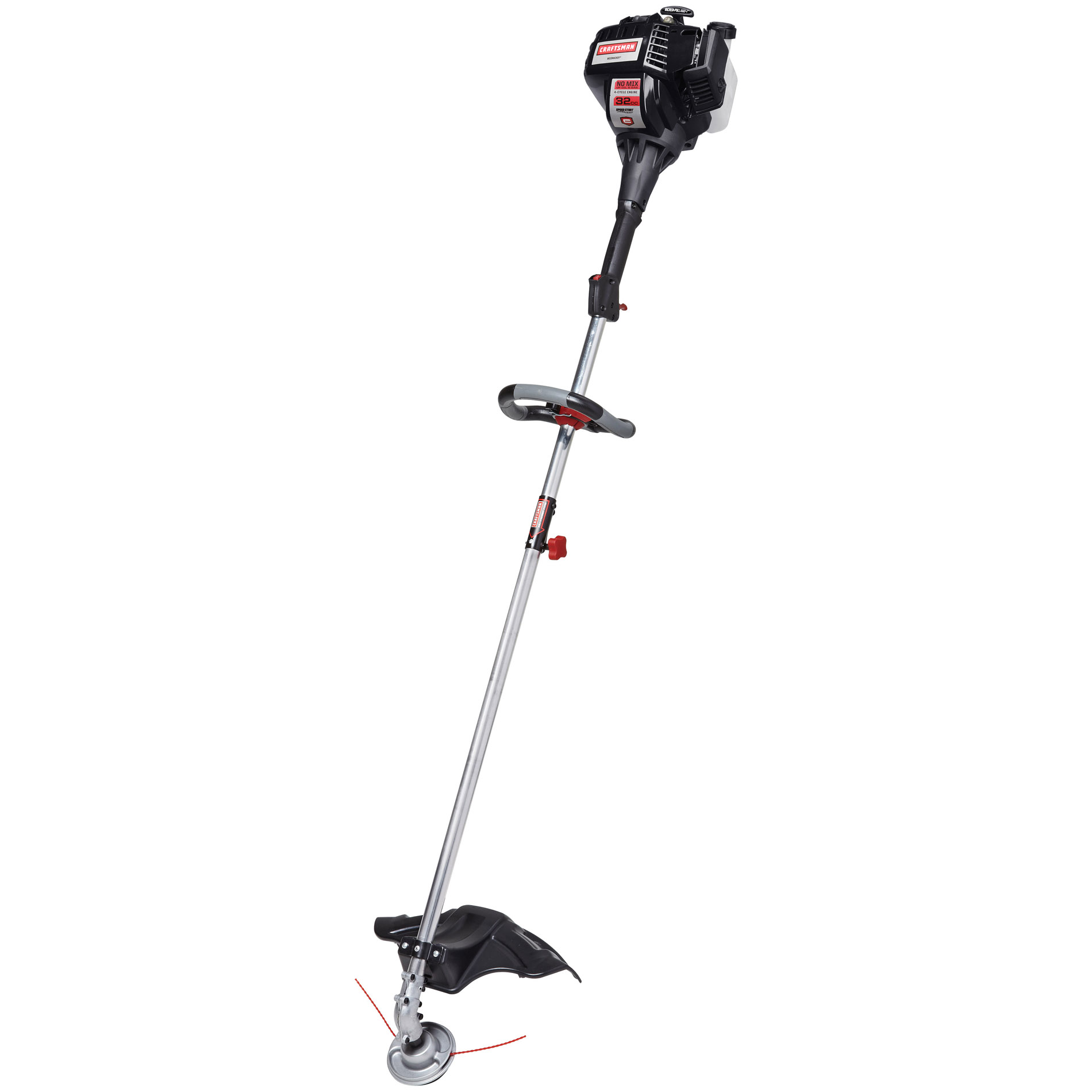 Craftsman 32cc* 4-Cycle Straight Shaft Weedwacker™ Gas Trimmer