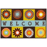 Whole Home Outdoor Welcome Mat - Floral at Kmart.com