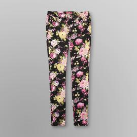Almost Famous Junior's Skinny Jeans - Floral at Sears.com