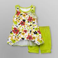 WonderKids Infant & Toddler Girl's Tank Dress & Shorts - Flowers at Kmart.com