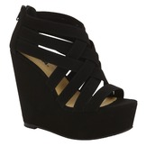 Soda Women's Dress Sandal Berta - Black at mygofer.com