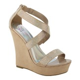 Soda Women's Dress Sandal Salon - Oatmeal at mygofer.com