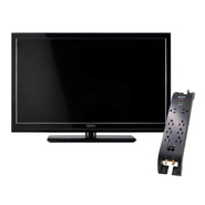 Seiki 40'' LCD TV and surge protector bundle          ...