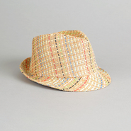 Bongo Juniors' Multi Color Twill Fedora at Kmart.com
