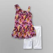 Piper Girl's One-Shoulder Dress & Bike Shorts at Kmart.com