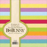 "BO BUNNY Double-Dot Paper Pad 6""X6"" 36/Sheets-Soft Shades at Kmart.com"
