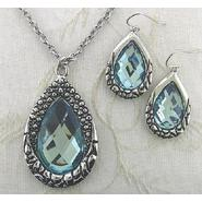Covington 2 Pc Teardrop Pendant Necklace & Earring Set at Sears.com