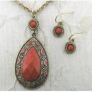 Covington 2 Pc Scroll Necklace and Earring Set at Sears.com