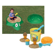 Playful Sandbox & Sand Toy Bundle at Sears.com