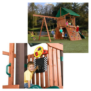 -Swing-N-Slide Outdoor Playset & Accessory Bundle