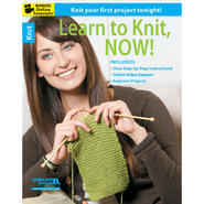 Leisure Arts-Learn To Knit, Now at Kmart.com