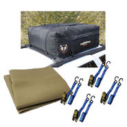 Rightline Gear Car Top with Tie Strap & Roof Pad Bundle at Sears.com
