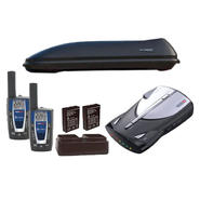 X-Cargo Car Top Carrier with Cobra Radar Detector & T...
