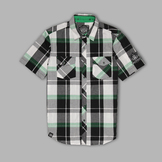 TSA by Truth Men's Short Sleeve Button Front Two Pocket Shirt at mygofer.com