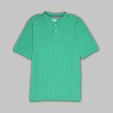 Basic Editions Men's Pique Polo Shirt at mygofer.com