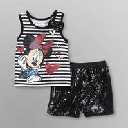 Disney Baby Minnie Mouse Infant & Toddler Girl's Tank Top and Shorts at Kmart.com