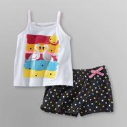 WonderKids Infant & Toddler Girl's Tank Top & Skort - Flamingos at Kmart.com