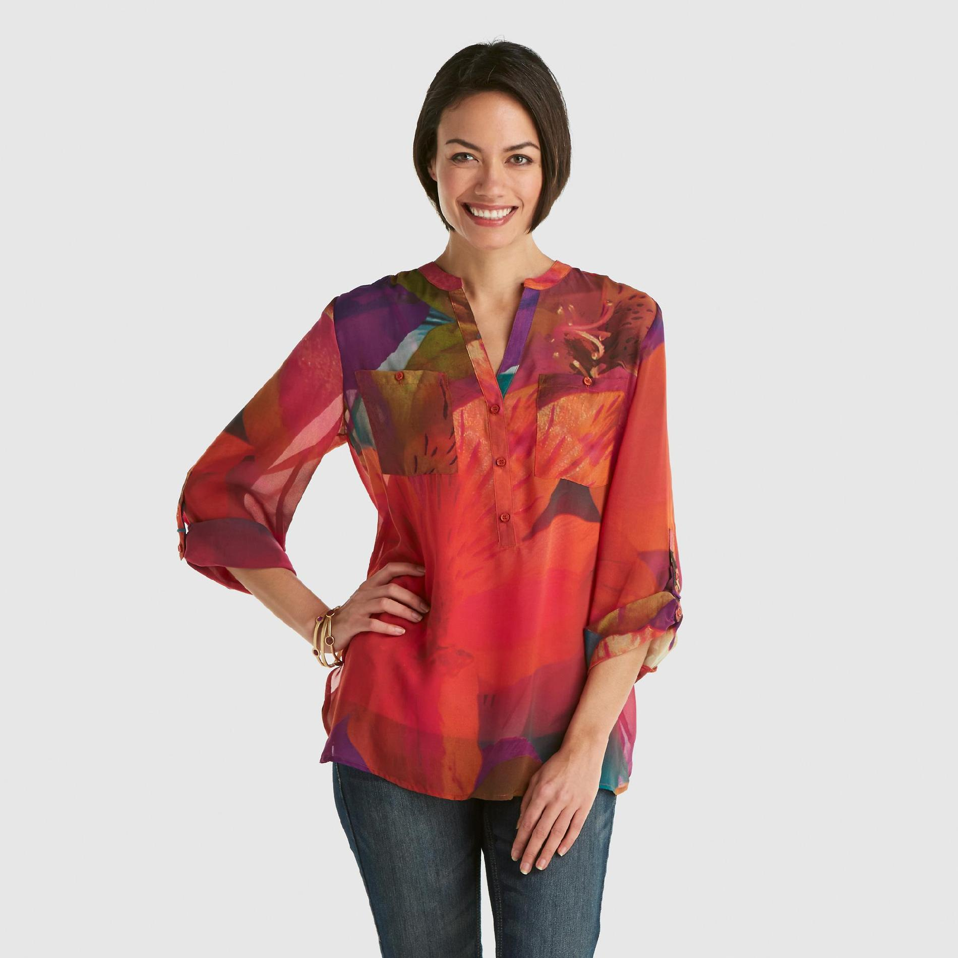 Covington Women's Blouse - Floral at Sears.com