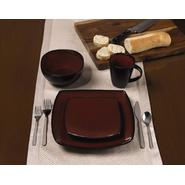 Jaclyn Smith 16 Piece Monaco Red  16 Piece Dinnerware Set at Kmart.com