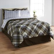 Essential Home Angled Plaid Complete Bed Set at Kmart.com