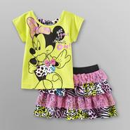 Disney Baby Minnie Mouse Infant & Toddler Girl's T-Shirt & Skirt at Kmart.com