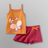 WonderKids Infant & Toddler Girl's Tank Top & Skort - Butterflies at Kmart.com