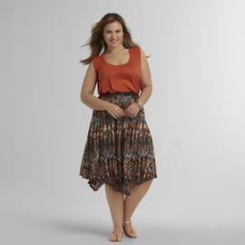 Love Your Style, Love Your Size Women's Plus Belted Tank Dress at Kmart.com