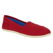 Bongo Women's Aline Canvas Shoe Eastern-Red at Kmart.com