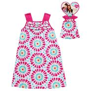 What A Doll Girl's Sun Bursts A-line Dress with Matching Doll Outfit at Kmart.com
