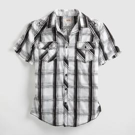 Route 66 Men's Western Shirt - Plaid at Kmart.com