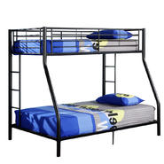 Walker Edison Metal Twin Full Black Bunk Bed at Kmart.com