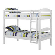 Walker Edison Solid Wood Twin White Bunk Bed at Kmart.com