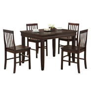 WalkerEdison Espresso Wood 5-Piece Dining Set at Kmart.com