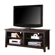 Walker Edison 58 in. Espresso Wood TV Stand at Kmart.com
