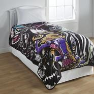 Monster High Girl's Fleece Blanket at Kmart.com