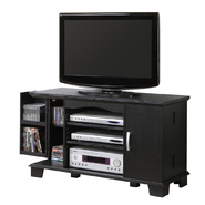 Walker Edison 42 in. Black Wood TV Stand with Media Storage at Kmart.com