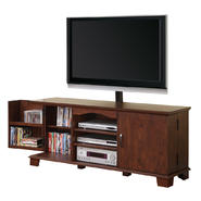 Walker Edison 60 in. Brown Wood TV Stand with Mount at Kmart.com