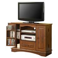 Walker Edison 42 in. Brown Wood TV Stand with Media Storage at Kmart.com