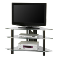 Walker Edison 44 in. Glass Corner TV Stand at Kmart.com