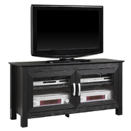 Walker Edison 44 in. Black Wood TV Stand at Kmart.com