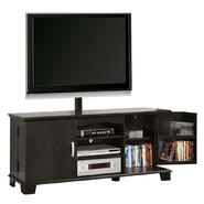 Walker Edison 60 in. Black Wood TV Stand with Mount at Kmart.com