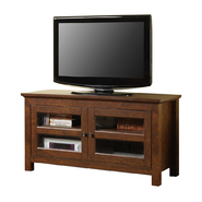 Walker Edison 44 in. Brown Wood TV Stand at Kmart.com