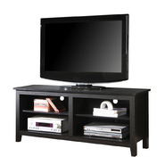Walker Edison 58 in. Black Wood TV Stand at Kmart.com