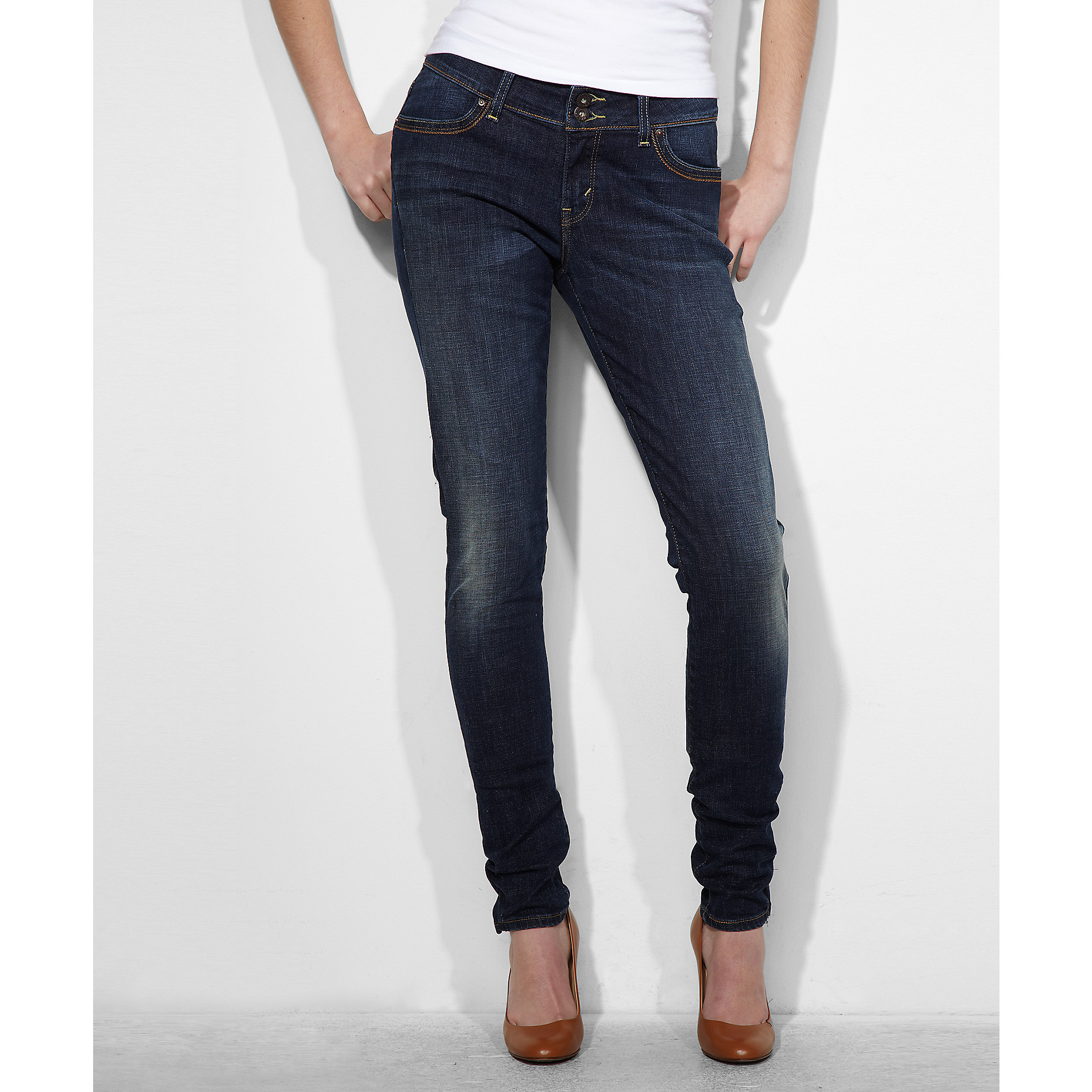 Levi's Women's Curvy Skinny Glacier Denim Jeans at Sears.com