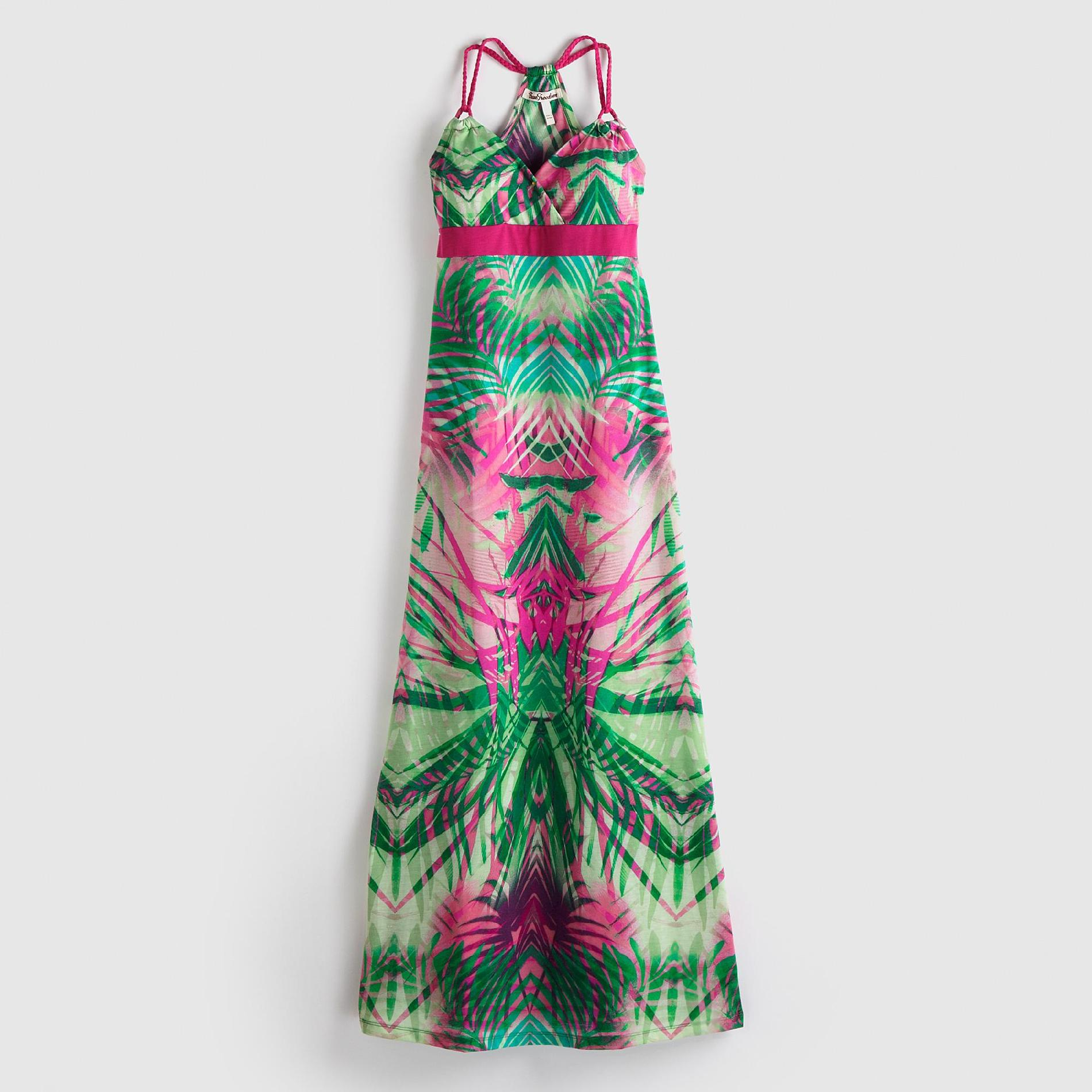 True Freedom Junior's Maxi Dress - Palm Print at Sears.com