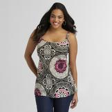 Love Your Style, Love Your Size Women's Plus Crinkle Tank Top at mygofer.com