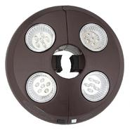Swim Time 4-Light Rechargeable LED Patio Umbrella Light at Kmart.com