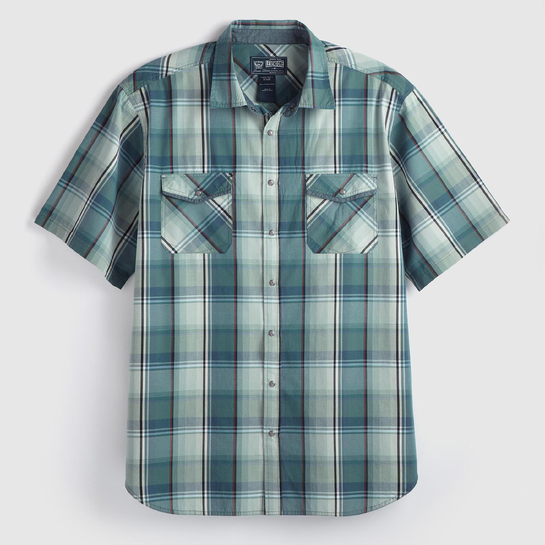 Legend One Men's Big & Tall Woven Shirt at Kmart.com